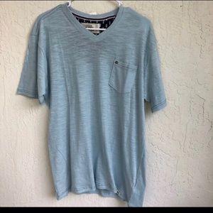 Free Planet Powder Blue Large Shirt Men's